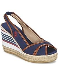 US Polo ASSN. - Chaussures - Sandales pour femme, femme Chaussures, Compensées ouvrent l'avant - DORAS4082S6-C1