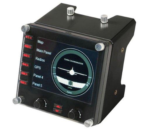 SAITEK Pro Flight Instrument Panel Für Pro Flight Yoke + 3 JAHRE GARANTIE (Drei-panel-bildschirm)