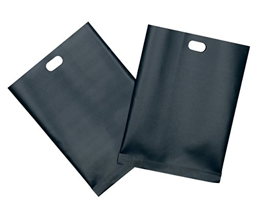 410UK0Pbu6L - BEST BUY #1 Kitchen Craft Non-Stick Pack of 2 Reusable Toaster Bags Reviews and price compare uk