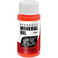 Heoolstranger Aceite de freno para bicicleta, 60 ml, sistema de aceite mineral para frenos de disco hidráulico, aceite mineral