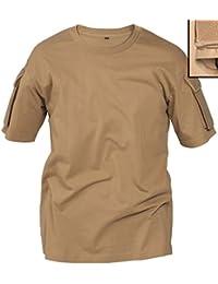 T-shirt tactique Mil-Tec coyote