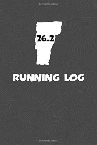 Running Log: Blank Lined Journal for anyone that loves Vermont, running, marathons! por KwG Creates