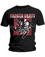 Napalm Death T-shirt - N*zi Punks