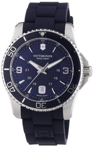 victorinox-swiss-army-herren-armbanduhr-xl-maverick-analog-quarz-kautschuk-241603