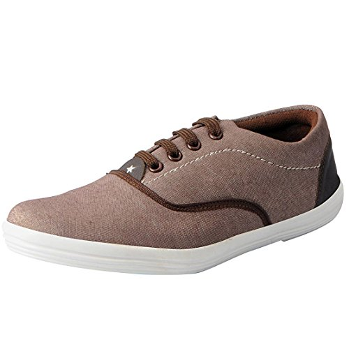 Fausto 3095-43 Brown Men's Sneakers