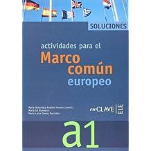 Actividades para el Marco común europeo A1 - Soluciones