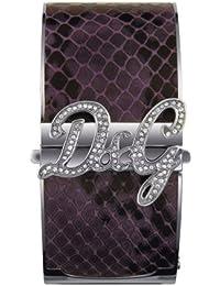D&G Dolce&Gabbana Damen-Armbanduhr  Edelstahl/Leder small