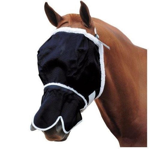 roma-buzz-away-fly-mask-fleece-linning-with-nose-pony
