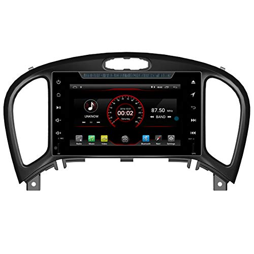 Autosion Android 8.1 Auto DVD Player GPS Stereo HeadUnit Navi Radio Multimedia WiFi für Nissan Juke 2012 2013 2014 2015 2016 2017 Lenkradsteuerung