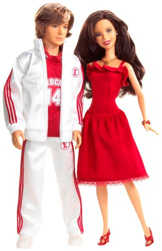 Mattel High School Musical Gabriella & Troy 2-Pack (Gabriella Aus High School Musical)