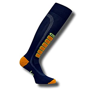 Eurosocks 8901 Ziffern Ski Silber Light Gewicht OTC Ski Socks-Pair