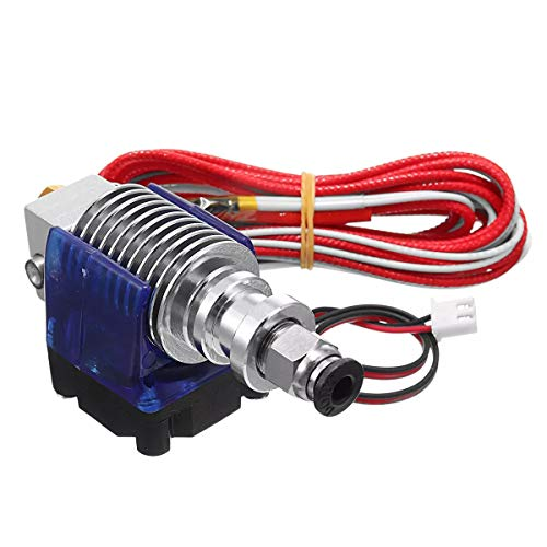 Vpqtettuecu J-Kopf 0.4mm Hotend Extruder Remote Kit Suppport 1.75mm PLA/ABS Filament mit Lüfter + Fan Cove 3D-Drucker-Teile Zubehör -