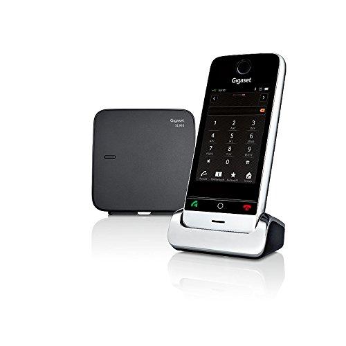 Gigaset SL910 Telefon - Schnurlostelefon / Mobilteil - mit Farbdisplay / Design Telefon / schnurloses Telefon - Freisprechen - schwarz - 18