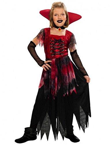 Déguisement vampiresse gothique Halloween enfant--3 à 4 ans
