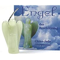 Engel der Beschützer, China Jade (Serpentin), Anhänger mit Silberöse preisvergleich bei billige-tabletten.eu