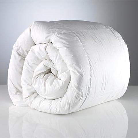 RELLENO NÓRDICO 300g/m² para cama 90, color blanco mide: 150x220cm Fabricado España, fuerza calorífica alta gama,