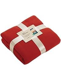 Fleecedecke, extra-weich, warm, 130x170cm, erhältlich in 11 Farben