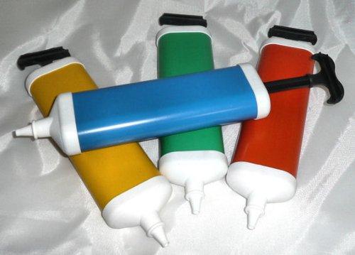 Preisvergleich Produktbild 1 Stück Ballonpumpe Luftballonpumpe Pumpe für Luftballons, verschiedene Farben, einfache Ausführung, LOLLIPOP®