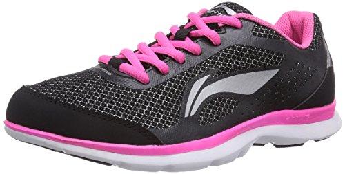 li-ning-lite-speed-scarpe-da-corsa-donna-nero-schwarz-black-pink-37