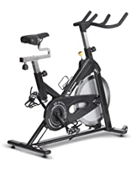 Horizon Fitness Indoor Cycle S3, schwarz/ chrom, 100644