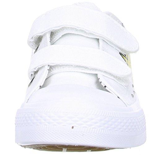 MISS SIXTY Kinder Mädchen Halbschuhe Sneaker weiß/bedruckt Weiß