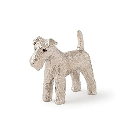 Welsh Terrier Made in UK Artistic Style Dog Figurine