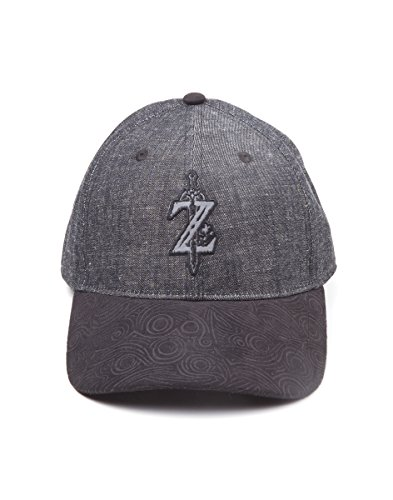 Zelda: Breath of the Wild Cap Z Game Logo Curved Bill Black