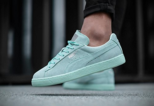 PUMA Suede Classic Mono Ref dames Iced espadrille Turquoise 362101 02 Grün