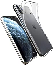 CANDYAPPLE CASES Transparent iPhone 11 Pro Case, Clear TPU Cover with Scratch, Scuff and Drop Resistance, Flex