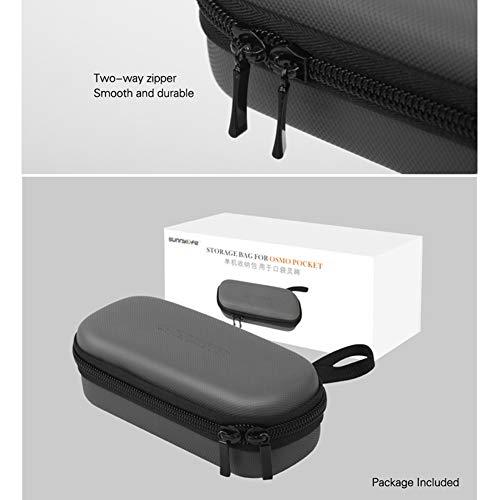 elegantstunning Mini Carrying Case Portable Waterproof Handbag Bag for DJI Osmo Pocket (Gray)