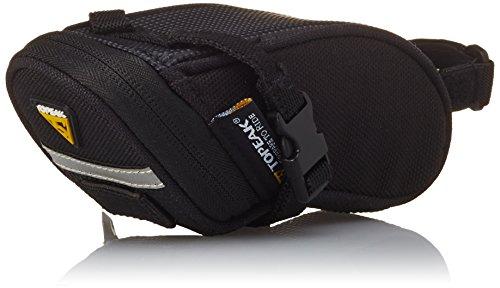 TOPEAK Aero Wedge Pack Strap Satteltasche Riemen Sattelstütze Rücklichtaufnahme Fahrrad Rennrad MTB, 15000007, Größe Micro