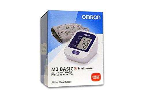 OMRON M2 Basic Misuratore di Pressione da Braccio Digitale, Tecnologia Intellisense per una Misurazione Precisa e Confortevole - 3