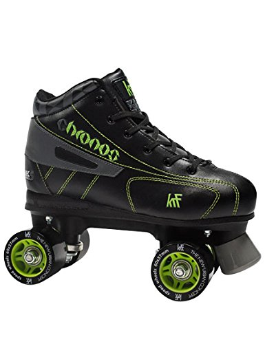 KRF The New Urban Concept Hockey Chronos Skates, Unisex Youth, Black, 40