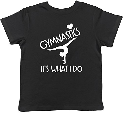 Gymnastics It's What I Do Childrens Kids Short Sleeve T-Shirt