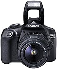Canon EOS 1300D 18 - 55mm 3.5-5.6 IS II Lens Kit- 18 MP, DSLR Camera, Black