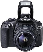 Canon EOS 1300D 18 - 55mm 3.5-5.6 IS II Lens Kit- 18 MP, DSLR Camera, Black