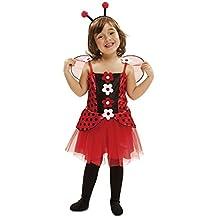 Viving  - Disfraz pequeña mariquita5-6 años