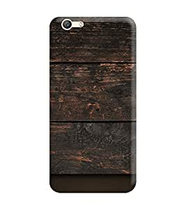 Oppo A57 Back Cover designer 3D Hard Mobile Case printed Cover for oppo a57 by Gismo - Wooden Texture Theme Printed Cover