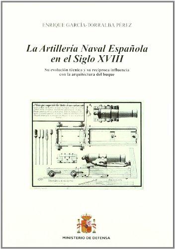 La artillería naval española en el siglo XVIII