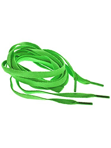 Tube Laces 120cm neon green