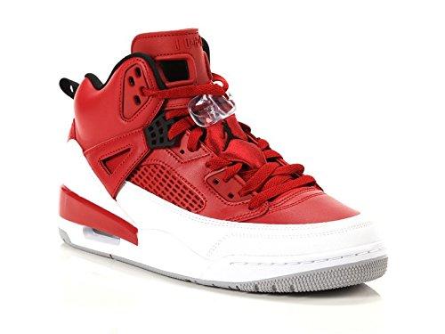 Nike Herren Jordan Spizike Rot Leder/Synthetik Sneaker 44 (Spizikes Air Jordans)