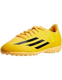 Adidas F5 Messi TF Junior Football Shoes Solar Gold-Black 2014 YCS (5 UK 96cbb714b