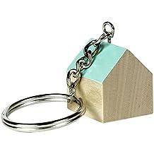 Doiy Sweet Home Mint Green - Llavero en forma de casa