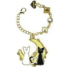 CoolChange Cadenita de Sailor Moon con colgante en forma de gato Luna