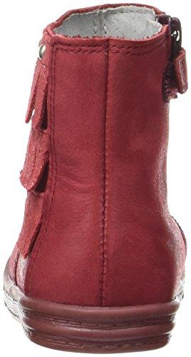 Minibel Laury, Bottes Classiques Fille Rouge (19 Carmin/Paillet Rouge)