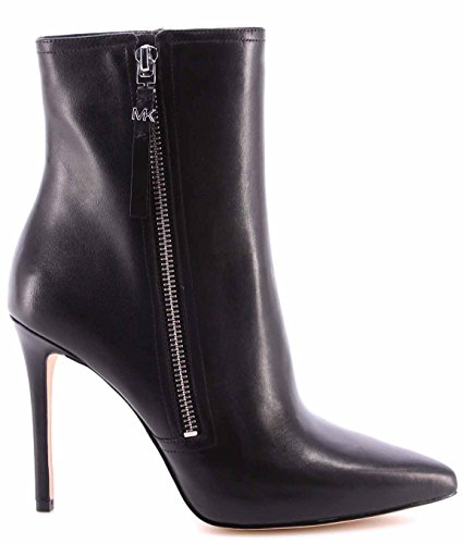 Michael Kors 40F6DWHE5L Ankle Boot Women Leather Black 38.5