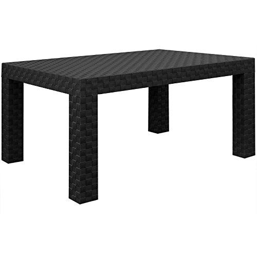 Lounge Set in Rattan-Optik Sitzgruppe Sitzgarnitur Gartengarnitur Gartenset - 3