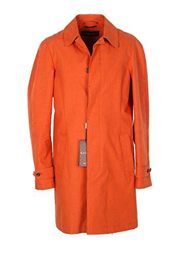 CL - Gucci Orange Rain Coat Size 48 / 38R U.S. In Cotton