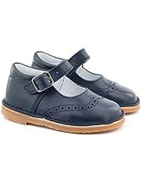 Boni Classic Shoes - Zapatos de Cordones de cuero Niña