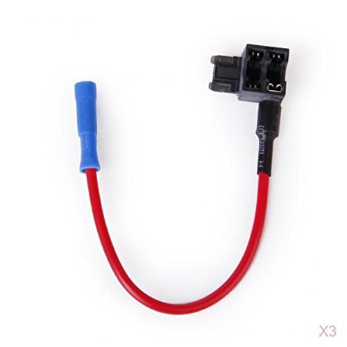 Preisvergleich Produktbild 3 Stk. Add-A-Circuit Fuse Adapter Mikro (LOW-PROFILE-Mini, APS, ATT) Klinge Sicherungshalter für Auto 32V